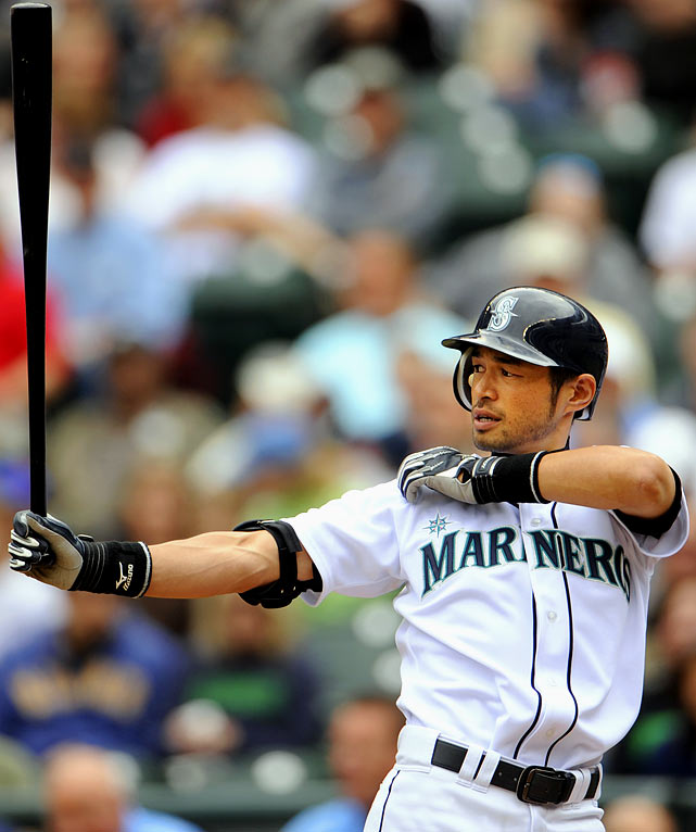 I'd feel a lot better about Ichiro's fantasy prospects if he were a lock for 100 runs -- especially with Chone Figgins wreaking havoc in the lineup. But then again, I'm not in the business of disrespecting .352 hitters. <br><b>Projections: <br>9 HRs, 51 RBIs, 94 runs, 24 steals, .343 average.</b>