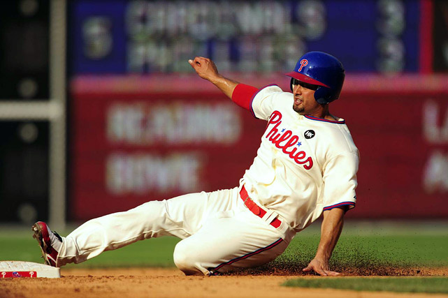 In mixed leagues, Victorino has solid value. In NL-only leagues or leagues where owners place a major emphasis on speed, Victorino will not disappoint -- even though he's already inked a lucrative three-year extension. <br><b>Projections: <br>11 HRs, 63 RBIs, 108 runs, 33 steals, .286 average.</b>