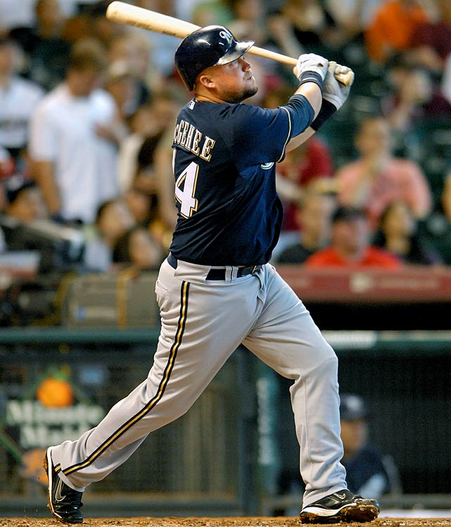 This time next year, McGehee (16 HRs, 66 RBIs, 58 runs, .301 average in just 116 games in '09) could easily be a top-10 second basemen. Heck, he might even crack the top-7 -- if Milwaukee entrusts him with at-bats while playing second, third base or maybe the outfield. Or, whenever Rickie Weeks (predictably) visits the infirmary sometime in June. <br><b>Projections: <br>20 HRs, 74 RBIs, 71 runs, 4 steals, .304 average.</b>