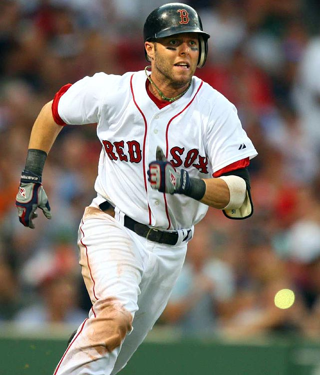 Without a doubt, Pedroia is superior to Kinsler in the runs department (233 in 2008-09) ... and probably batting average, as well. But there are noticeable gaps with homers, RBIs and steals, which explains why he's a firm-but-distant No. 3. <br><b>Projections: <br>15 HRs, 77 RBIs, 117 runs, 16 steals, .304 average.</b>