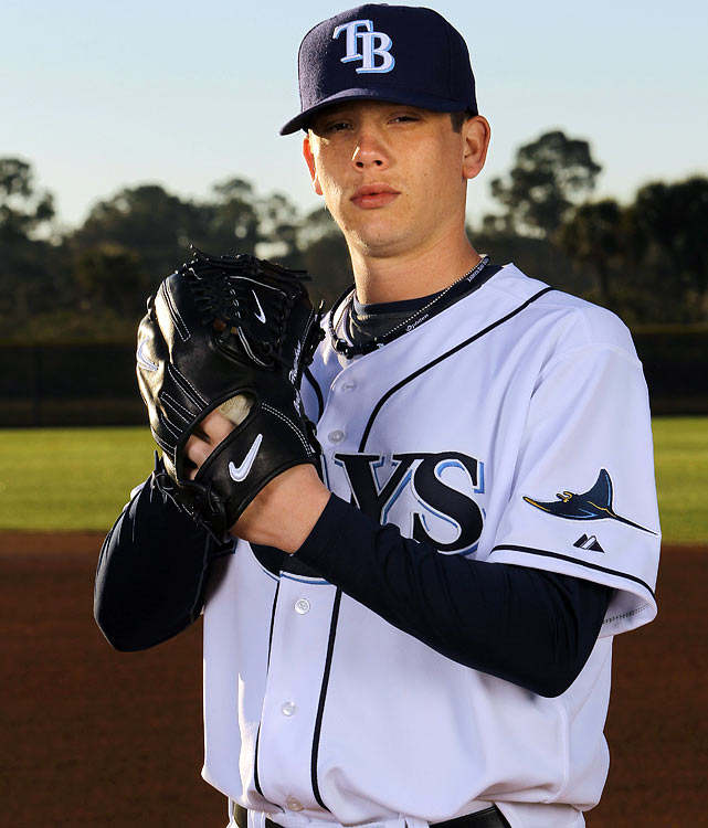 In most organizations, Hellickson would be a favorite for the major league starting five after his 2009 minor league season: 9-2, 2.45 ERA, 132 K, 29 BB, and a .178 BAA. Due to the Rays' stacked under-30 rotation, Hellickson will start the year at Triple-A. Jump all over this dude in all leagues if red flags start to surround any member of Tampa Bay's staff.