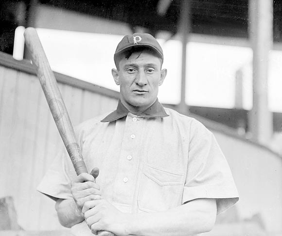 Well, it was another world back then. They went 102-36, used 27 players all year (including nine pitchers) and never lost more than two games in a row.  (Pictured: Honus Wagner)