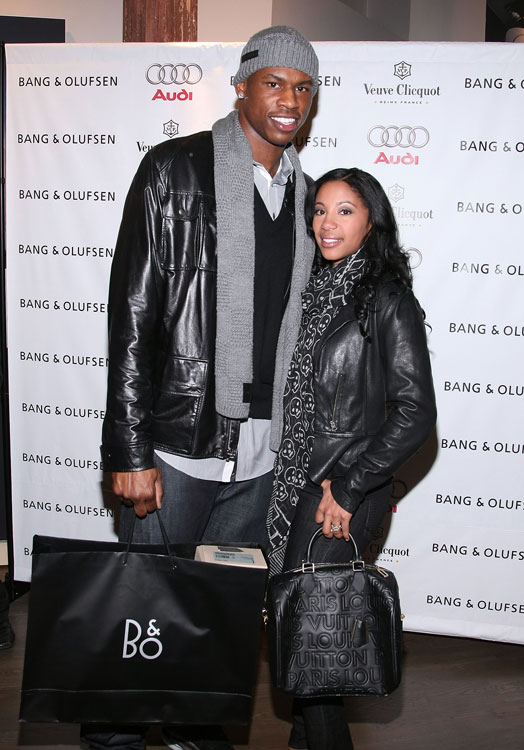 Al Harrington and his wife, Michelle, were in style at the grand opening of a SoHo store in New York City last year.