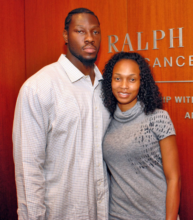 In 2001, Ben Wallace married longtime girlfriend Chanda, who is said to be his biggest critic on the court.