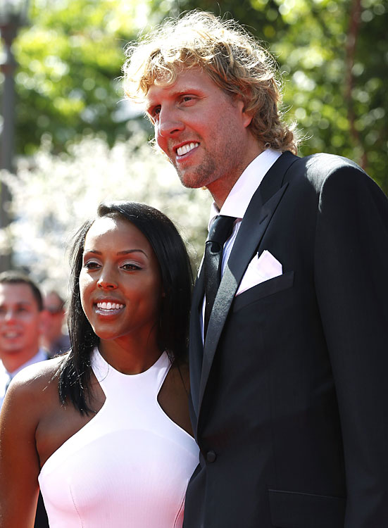 The Mavs star popped the question to girlfriend Jessica Olsson before the 2011 NBA Finals. So basically he won a championship  and  a really hot fiancee in less than a month. Well done!