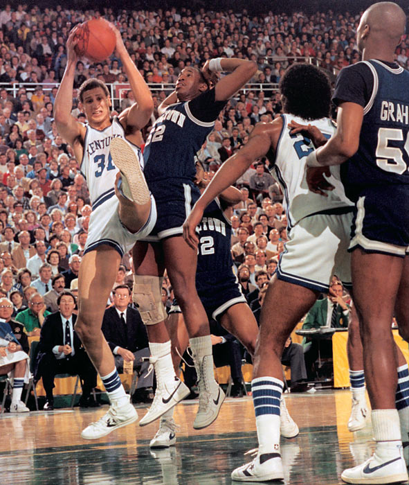 Now better known as the man drafted one spot ahead of Michael Jordan, Bowie's time at Kentucky foreshadowed his injury-riddled professional career. After averaging double figures as a freshman and sophomore, he suffered leg injuries that kept him out for much of the next two seasons. He returned in 1983 to score 10 points per game as the Wildcats returned to the Final Four for the first time since the 1978 title.