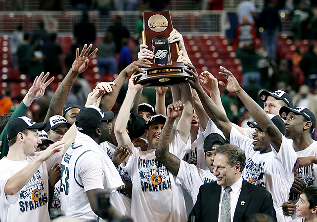 "No team in the country -- not North Carolina, not Kentucky, not UCLA -- has done it better in the past 12 years. And all six trips have come under Tom Izzo, the hard-nosed coach who preaches defense, rebounding and physical play. ""I like it more than I used to,"" Izzo said of playing in March. ""It's even better than I thought."""