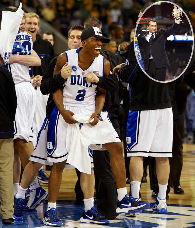 Nolan Smith scored a career-high 29 as Duke became the only No. 1 seed to survive to Indianapolis, earning its 11th Final Four berth under coach Mike Krzyzewski.
