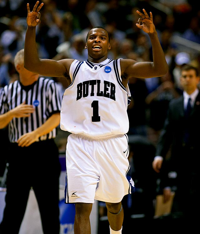 Sophomore guard Shelvin Mack turned in a 25-point performance as Butler cruised to a big win against a fellow mid-major, despite trailing by a half dozen at halftime.