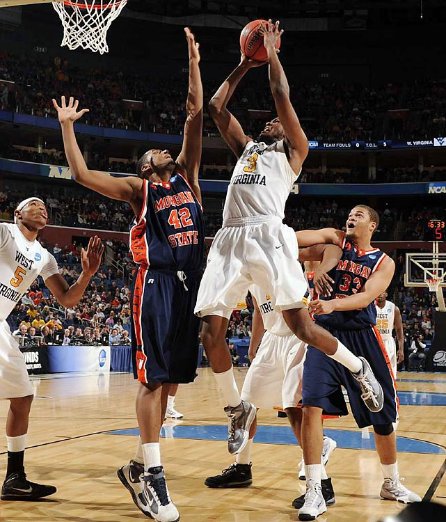 There may not have been as many upsets as there were in Day 1, but the second day of the tourney was filled with just as many shining moments in the making.<br><br> Trouble started early for the Mountaineers, but sophomore Devin Ebanks helped close the gap by racking up 16 points and 13 rebounds for West Virginia.