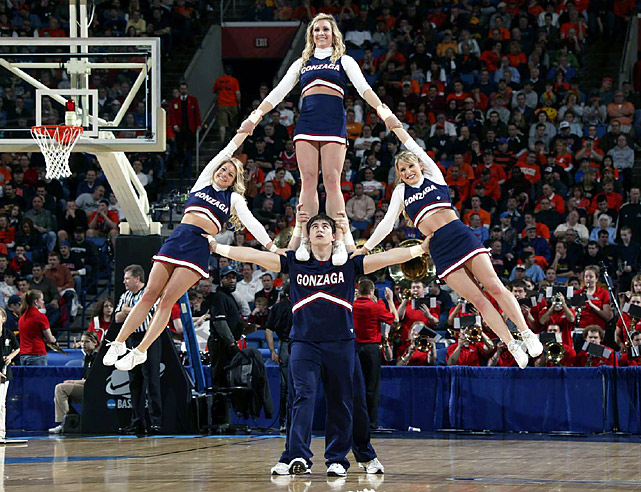 Gonzaga was trying to become the second team from the West Coast Conference to shock the Big East - WCC tournament champ Saint Mary's stunned second-seeded Villanova on Saturday - but they were no match for the Orange.