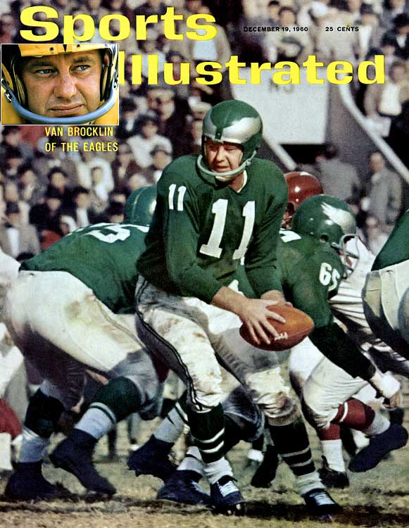 "The ""Dutchman"" led the Eagles to their most recent NFL championship when his 1960 club defeated Green Bay, 17-13, in the only postseason loss of Vince Lombardi's NFL coaching career."