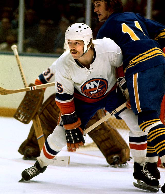 Scoring 17 goals and 54 points with 175 PIM as a rookie, Potvin's offensive prowess would draw comparisons to Bobby Orr -- he scored 31 goals and 101 points in 1978-79 -- but he was also a ferocious, bone-rattling blueliner who won the Norris Trophy three times. The Hall of Famer was a mainstay of the Islanders' four consecutive Stanley Cup championship teams.