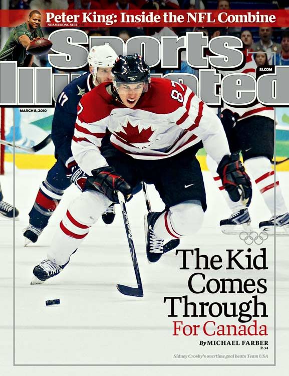 Sidney Crosby scored the game-winning overtime goal in the final competition of the 2010 Winter Olympics, giving host nation Canada a record-breaking 14th gold medal at a single Games and earning Sid The Kid a photo on the cover of SI, a feat not easily accomplished in hockey.<br><br>Here is a look back at the most recent hockey-related SI covers (in the U.S.).