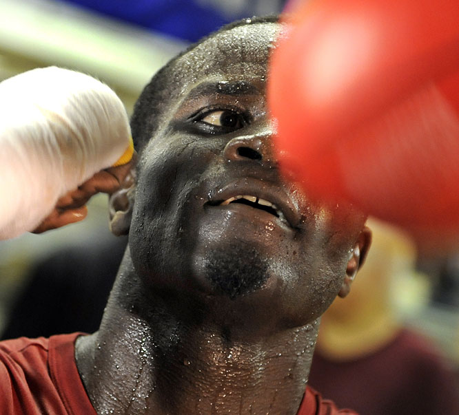 Clottey, a Ghana transplant and Bronx, N.Y., native, captured the vacant IBF welterweight title with a victory over Zab Judah in 2008. He vacated the belt to fight Cotto rather than make a mandatory defense against Isaac Hlatswayo of South Africa.