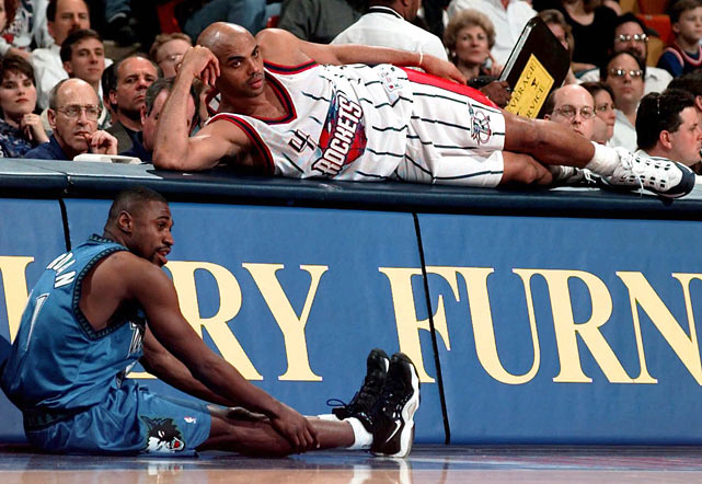 Barkley was hampered by injuries in Houston, missing 145 games in four seasons before retiring in 2000.