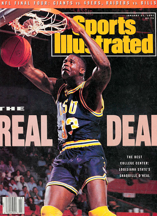O'Neal, who was a two-time All-American and SEC Player of the Year, appears on his first SI cover in Nov. 1990.