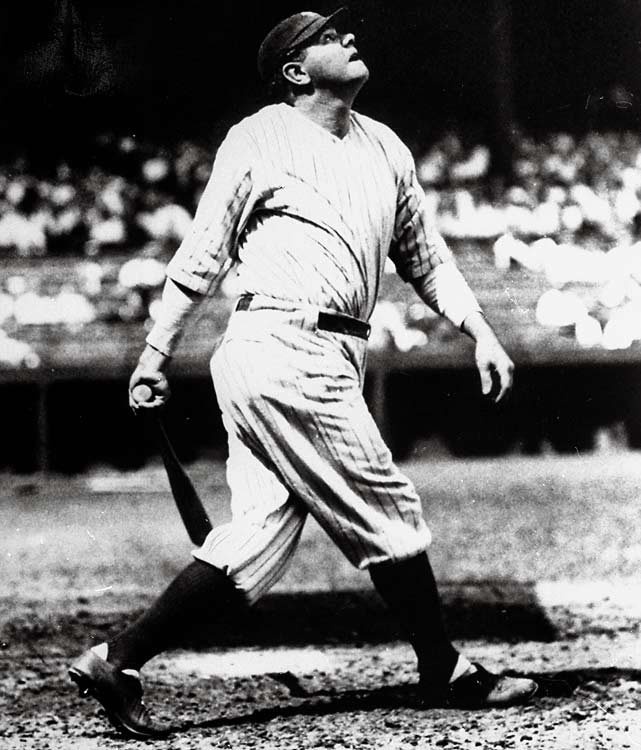 Babe Ruth becomes the highest paid baseball player, earning $70,000 per year. He out-gains then-commissioner Kenesaw Mountain Landis by $5,000.