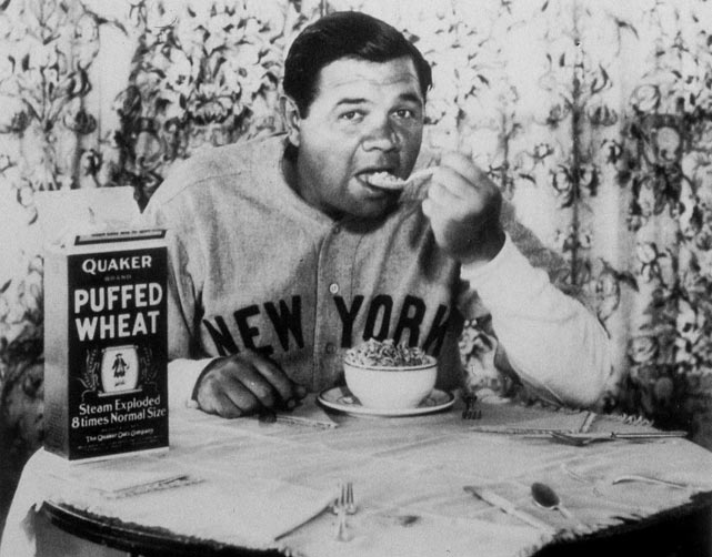 Yankee superstar Babe Ruth signs a two-year deal for $160,000, making him the highest paid player of all time.