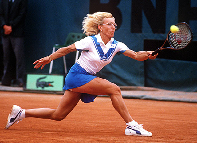 Martina Navratilova becomes the first woman tennis player to win more than $10 million in her career.