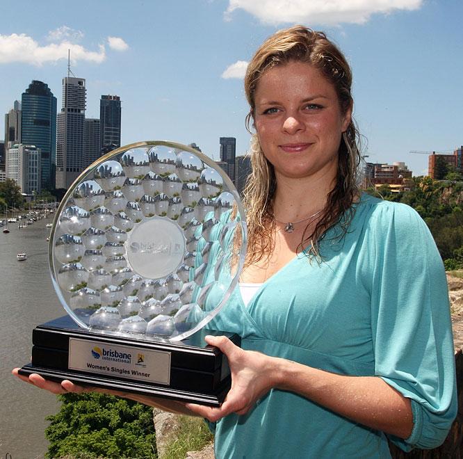 def. Justine Henin, 6-3, 4-6, 7-6(6) WTA International, Hard, $220,000 Brisbane, Australia