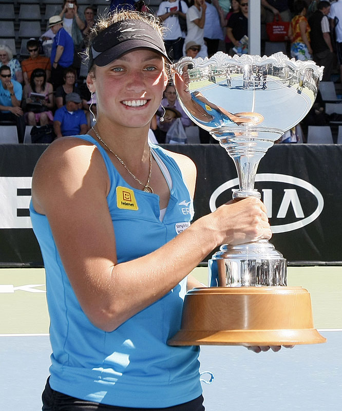 def. Flavia Pennetta, 6-3, 6-2 WTA International, Hard, $220,000 Auckland, New Zealand