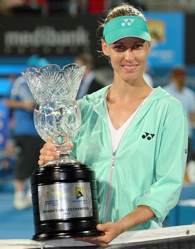 def. Serena Williams, 6-3, 6-2 WTA Premier, Hard, $600,000 Sydney, Australia