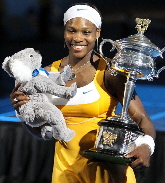 def. Justine Henin, 6-4, 3-6, 6-2 Grand Slam, Hard, $9,264,098 Melbourne, Australia