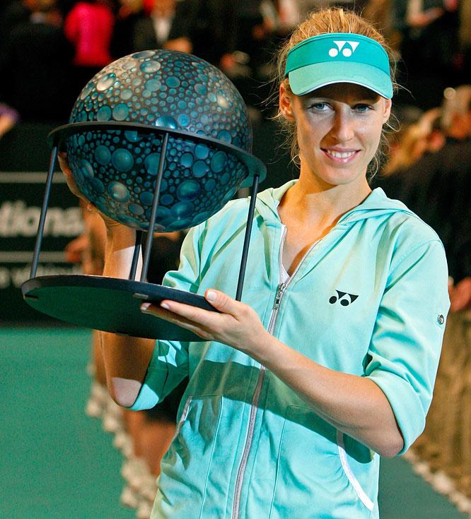 def. Lucie Safarova, 6-7(5), 6-1, 6-4 WTA Premier, Hard (Indoor), $700,000 Paris, France