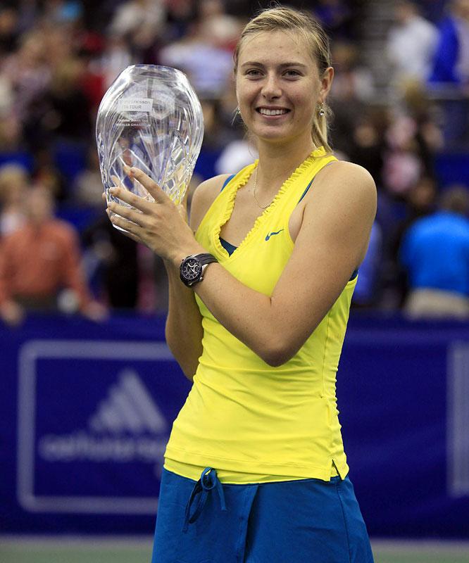 def. Sofia Arvidsson, 6-2, 6-1 WTA International, Hard (Indoor), $220,000 Memphis, Tenn.