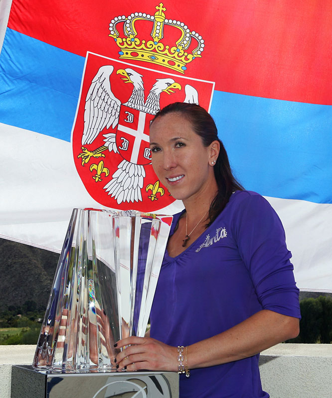 def. Caroline Wozniacki, 6-2, 6-4 WTA Premier, Hard, $4,500,000 Indian Wells, Calif.