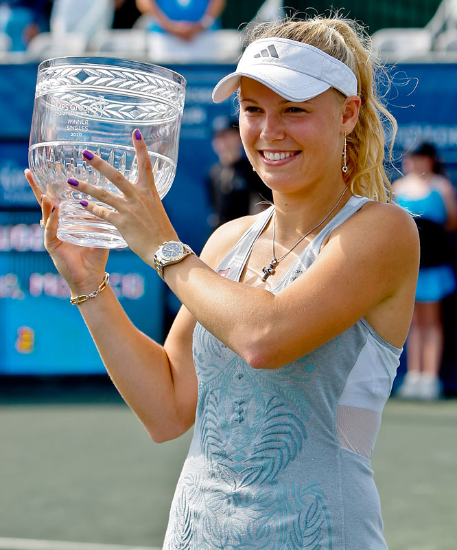 def. Olga Govortsova, 6-2, 7-5 WTA International, Clay (Green), $220,000 Ponte Vedra, Fla.