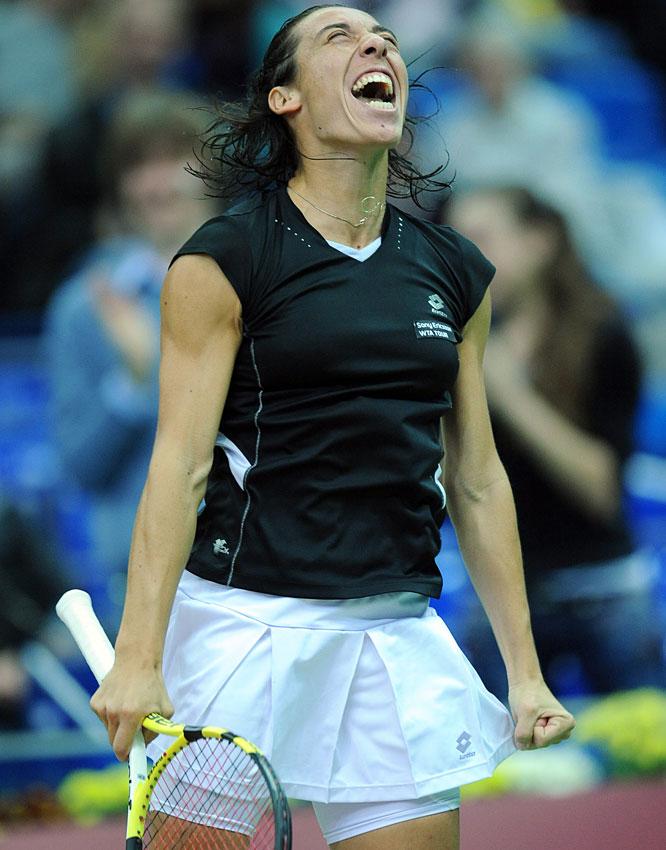 def. Roberta Vinci, 6-1, 6-1 WTA International, Clay, $220,000 Barcelona, Spain