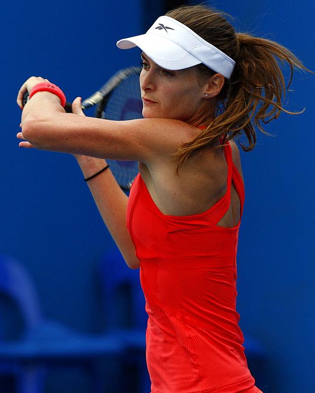 def. Simona Halep, 6-4, 6-2 WTA International, Clay, $220,000 Fes, Morocco