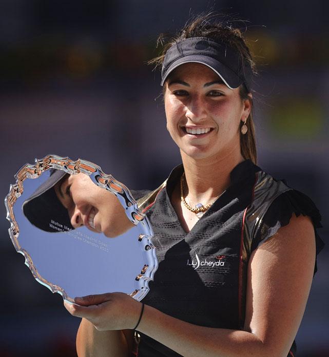 def. Venus Williams, 6-2, 7-5 WTA Premier, Clay, $4,500,000 Madrid, Spain