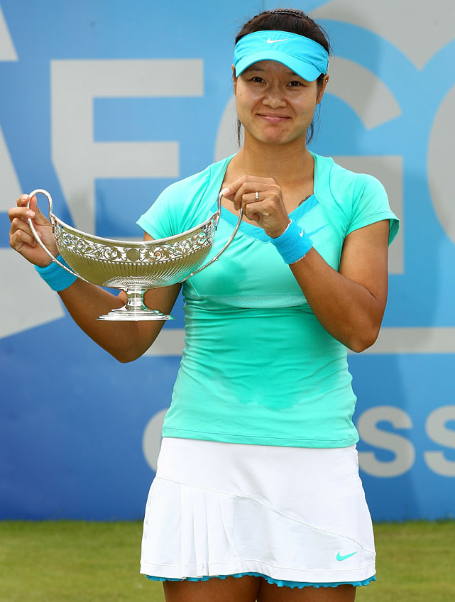 def. Maria Sharapova, 7-5, 6-1 WTA International, Grass, $220,000 Birmingham, United Kingdom
