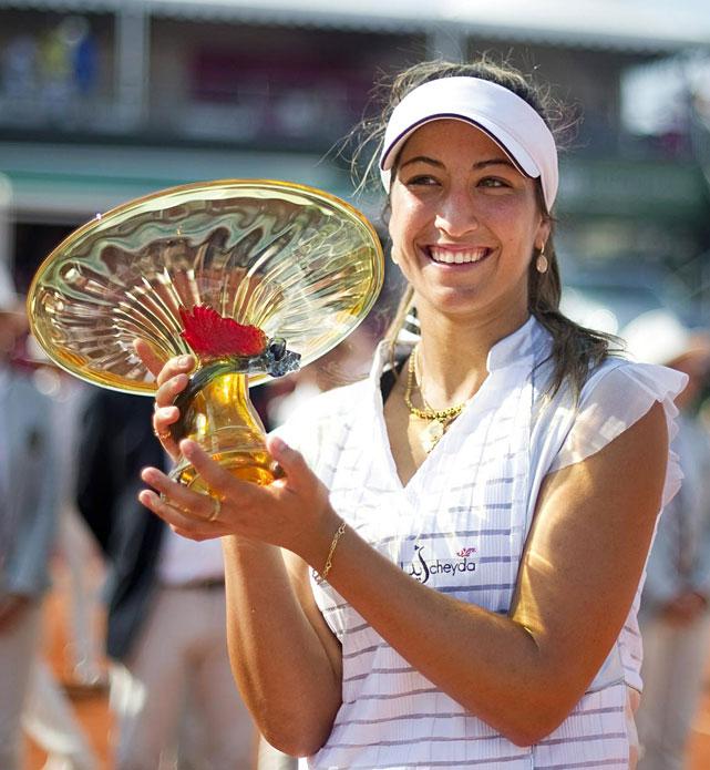 def. Gisela Dulko, 6-3, 4-6, 6-4 WTA International, Clay, $220,000 Bastad, Sweden