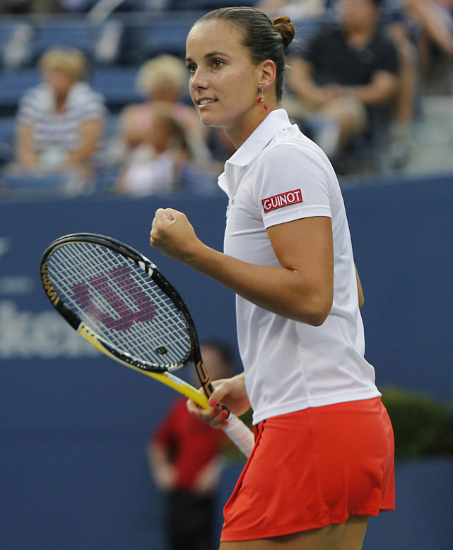 def. Alla Kudryavtseva, 6-1, 6-4 WTA International, Hard, $220,000 Guangzhou, China