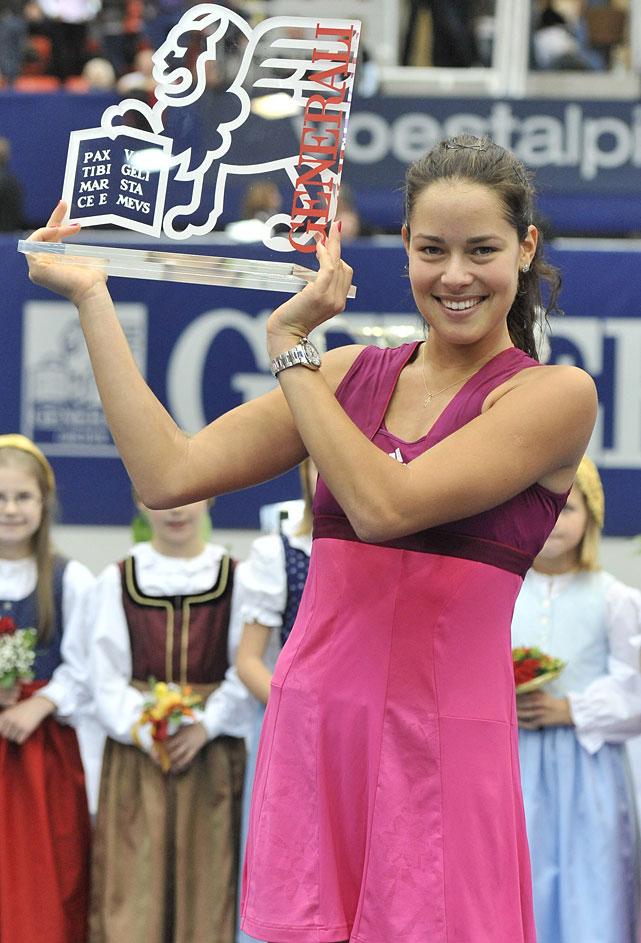 def. Patty Schnyder, 6-1, 6-2 WTA International, Hard, $220,000 Linz, Austria
