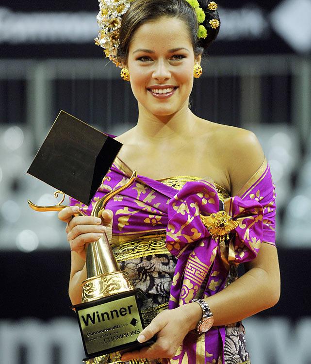 def. Alisa Kleybanova, 6-2, 7-6 (5) WTA International, Hard (Indoor), $600,000 Bali, Indonesia