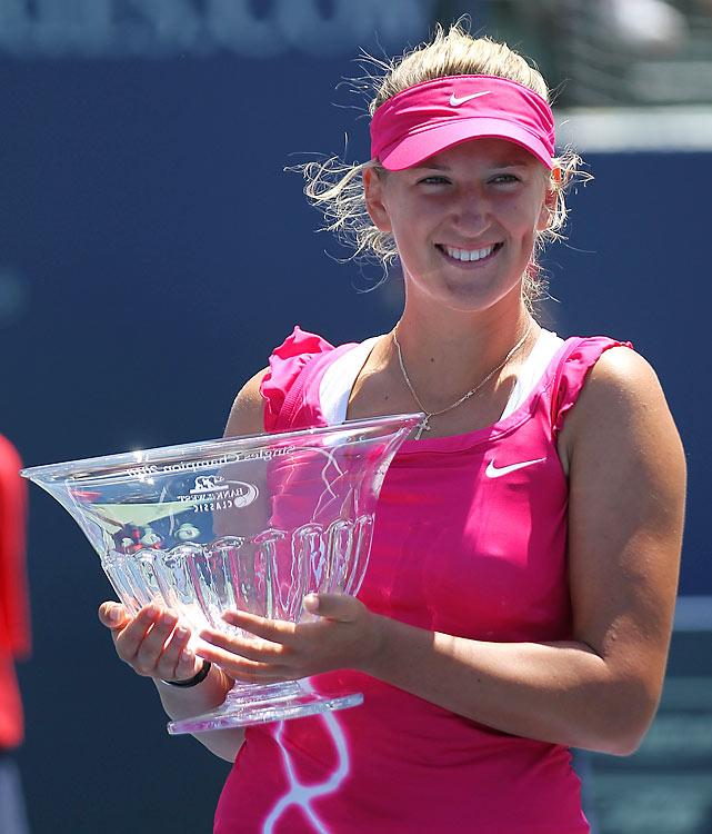 def. Maria Sharapova, 6-4, 6-1  WTA Premier, Hard, $700,000 Stanford, Calif.