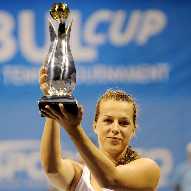 def. Elena Vesnina, 5-7, 7-5, 6-4  WTA International, Hard, $220,000 Istanbul, Turkey