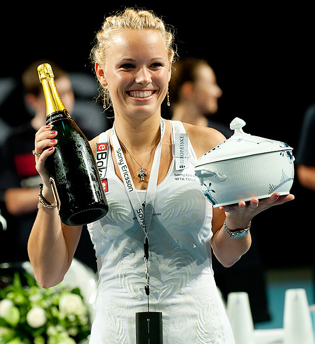def. Klara Zakopalova, 6-2, 7-6(5) WTA International, Hard, $220,000 Copenhagen, Denmark