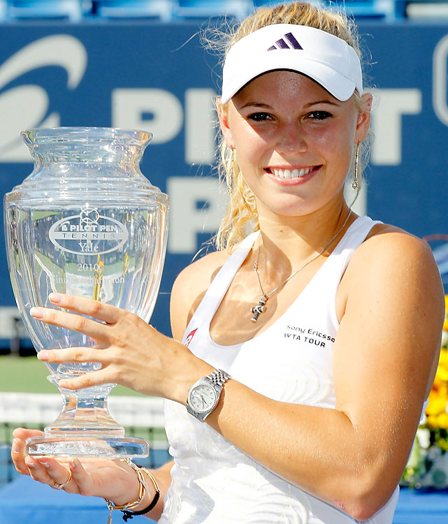 def. Nadia Petrova, 6-3, 3-6, 6-3 WTA Premier, Hard, $600,000 New Haven, Conn.