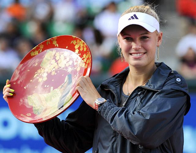 def. Elena Dementieva, 1-6, 6-2, 6-3 WTA International, Carpet, $2,000,000 Tokyo, Japan