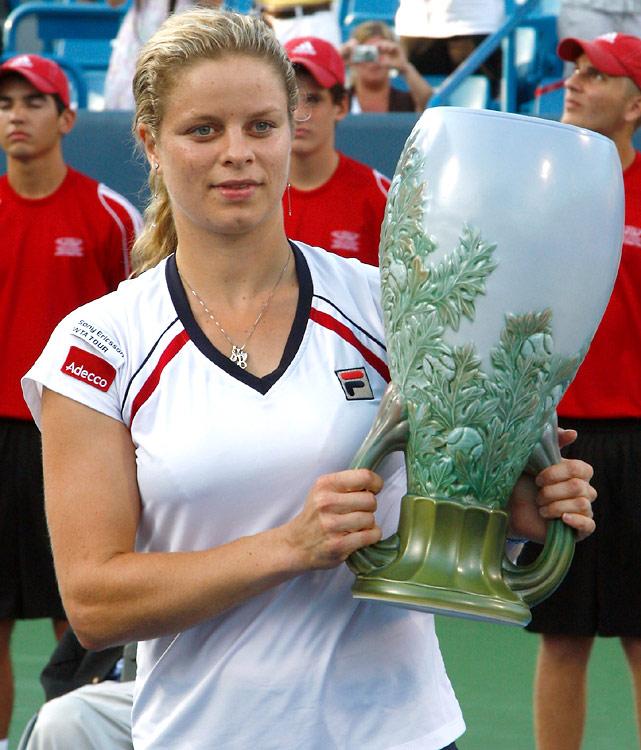 def. Maria Sharapova 2-6, 7-6 (4), 6-2  WTA Premier, Hard, $2,000,000 Cincinnati, Ohio