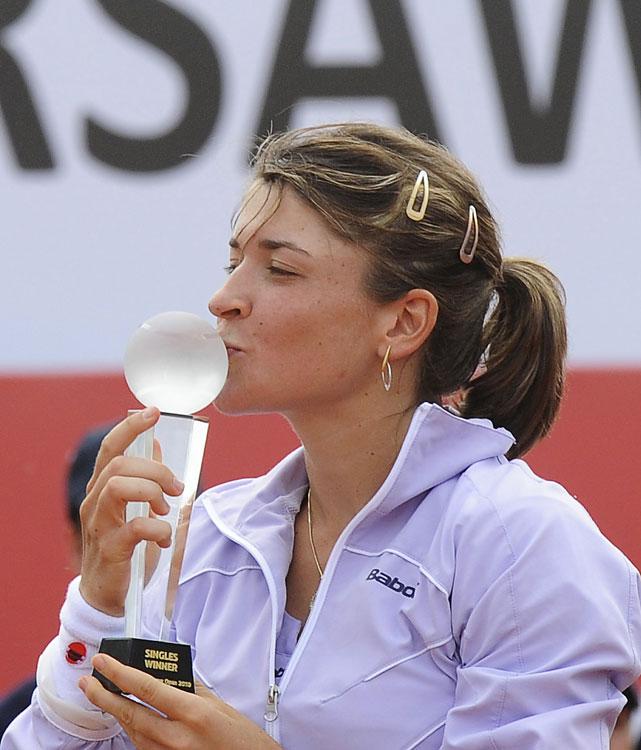 def. Zheng Jie, 6-3, 6-4 WTA Premier, Clay, $600,000 Warsaw, Poland