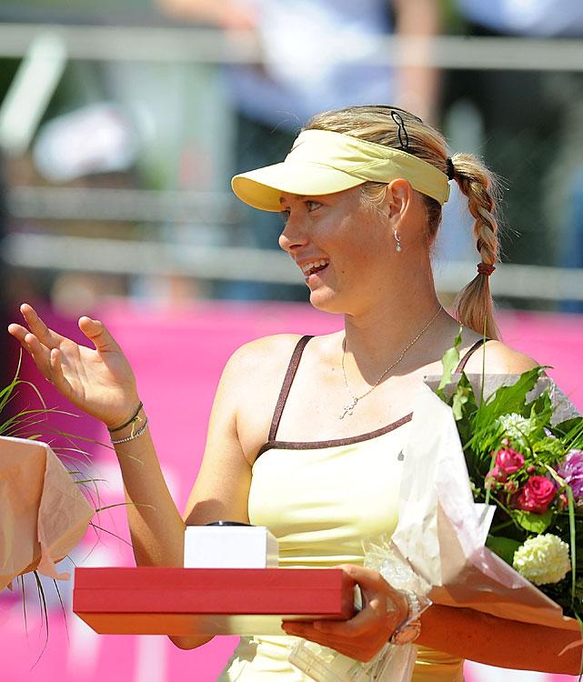 def. Kristina Barrois, 7-5, 6-1 WTA International, Clay, $220,000 Strasbourg, France