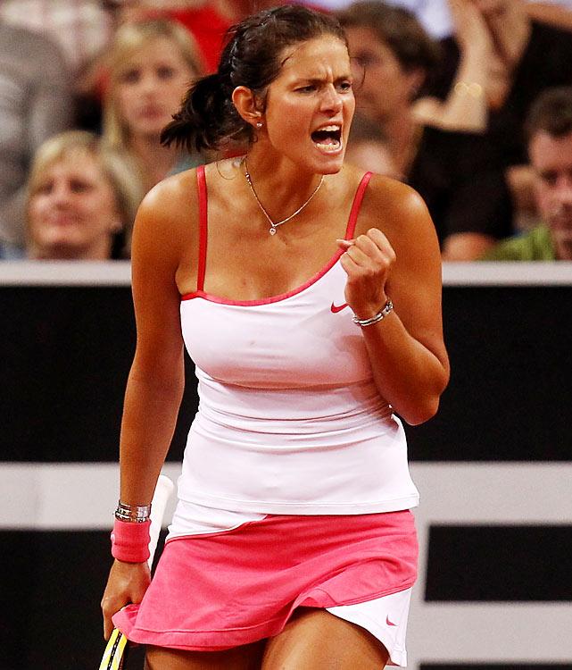 def. Timea Bacsinszky, 6-1, 6-4  WTA International, Clay, $220,000 Bad Gastein, Austria