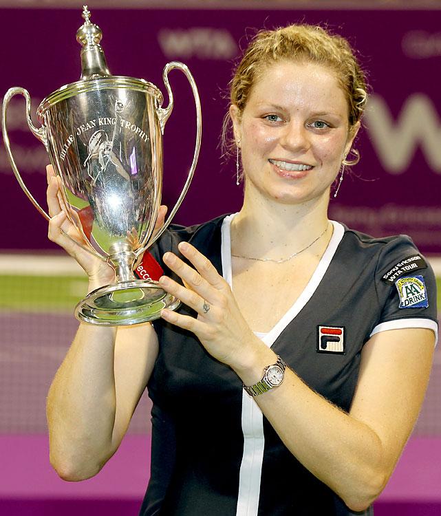 def. Caroline Wozniacki, 6-3, 5-7, 6-3 Tour Championships, Hard, $4,550,000 Doha, Qatar
